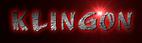 Font AnuDaw Klingon Logo Preview