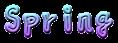 Font 青柳衡山 Aoyagi Kouzan Spring Logo Preview