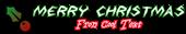 Font Argosy Christmas Symbol Logo Preview