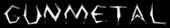 Font Argosy Gunmetal Logo Preview