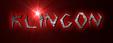 Font Argosy Klingon Logo Preview