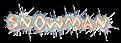 Font Argosy Snowman Logo Preview