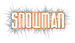 Font Armor Piercing Snowman Logo Preview
