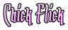 Font Arr Matey Chick Flick Logo Preview
