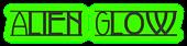 Font Avignon Alien Glow Logo Preview