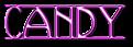 Font Avignon Candy Logo Preview
