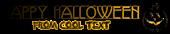 Font Avignon Halloween Symbol Logo Preview