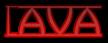 Font Avignon Lava Logo Preview