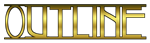 Font Avignon Outline Logo Preview