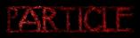 Font Avignon Particle Logo Preview