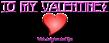 Font Avignon Valentine Symbol Logo Preview