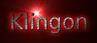 Font B Arabic Style Klingon Logo Preview