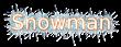 Font B Arabic Style Snowman Logo Preview