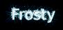 Font B Esfehan Frosty Logo Preview