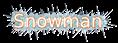 Font B Esfehan Snowman Logo Preview