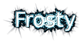 Font B Homa Frosty Logo Preview