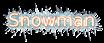 Font B Homa Snowman Logo Preview