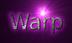 Font B Homa Warp Logo Preview