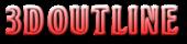 Font BOOTLE 3D Outline Gradient Logo Preview