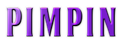 Font BOOTLE Pimpin Logo Preview