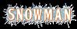 Font BOOTLE Snowman Logo Preview