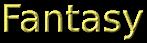 Font B Titr Fantasy Logo Preview