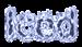 Font B Titr Iced Logo Preview