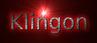 Font B Titr Klingon Logo Preview