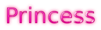Font B Titr Princess Logo Preview