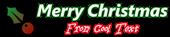 Font B Zar Christmas Symbol Logo Preview