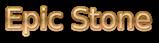 Font B Zar Epic Stone Logo Preview