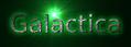 Font B Zar Galactica Logo Preview