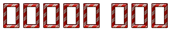Font B Zar Happy Joy Logo Preview