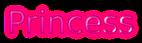 Font B Zar Princess Logo Preview