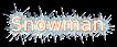 Font B Zar Snowman Logo Preview