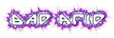 Font Backup Generation Bad Acid Logo Preview