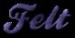 Font Ballpark Felt Logo Preview