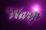 Font Ballpark Warp Logo Preview