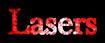 Font Baskerville Lasers Logo Preview