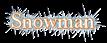 Font Baskerville Snowman Logo Preview