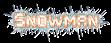 Font Baumarkt Snowman Logo Preview