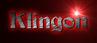 Font Becker Klingon Logo Preview