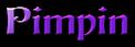 Font Becker Pimpin Logo Preview