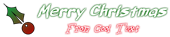 Font Belligerent Madness Christmas Symbol Logo Preview