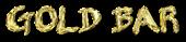 Font Belligerent Madness Gold Bar Logo Preview