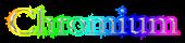 Font Bergamo Std Chromium Logo Preview