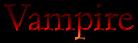 Font Bergamo Std Vampire Logo Preview
