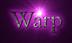 Font Bergamo Std Warp Logo Preview