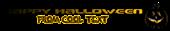 Font Beware Halloween Symbol Logo Preview