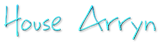 Font BigMisterC House Arryn Logo Preview